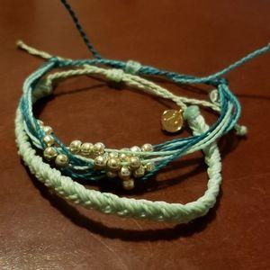 Set of Pura Vida Bracelets